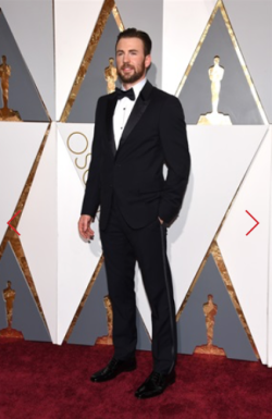 CHRIS EVANS IN PRADA
