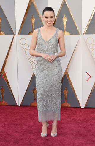 DAISY RIDLEY IN CHANEL COUTURE