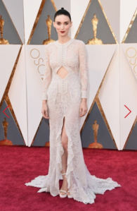 ROONEY MARA IN GIVENCHY HAUTE COUTURE BY RICCARDO TISCI