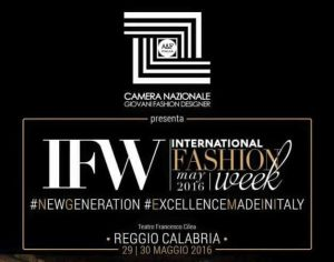 iNTERNATIONAL FASHION WEEK REGGIO CALABRIA